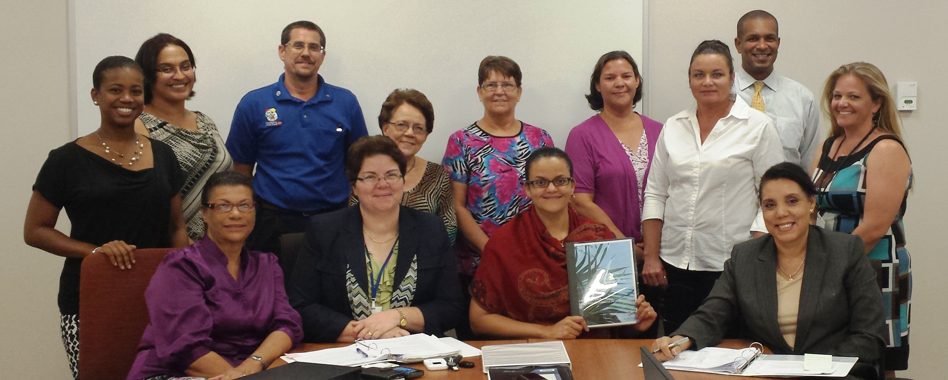 Members of the Education Council and Early Childhood Care and Education Unit upon the approval of the Cayman Islands Early Years Curriculum Framework.