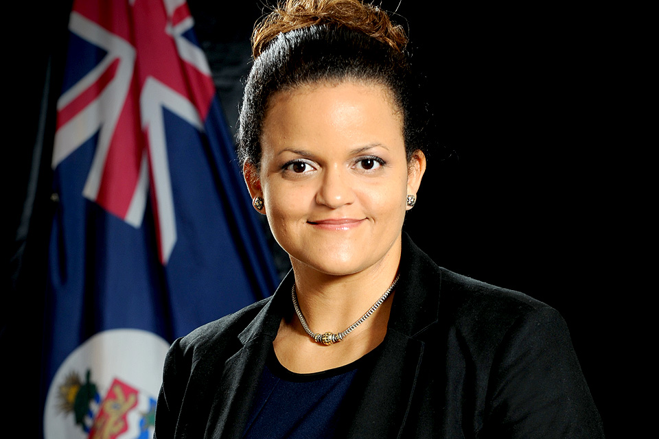 The Hon. Tara Rivers, JP, MLA, Minister of Education, Employment & Gender Affairs